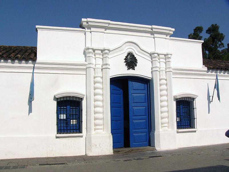 Museo Casa Histórica de la Independencia, Tucumán. Fotografía de Flaviusbsas.