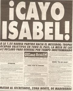 Crónica, 24/3/1976