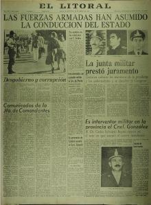 El Litoral, 24/3/1976