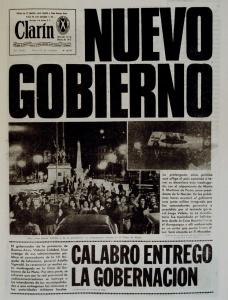 Clarín, 24/3/1976