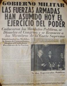 La Razón, 24/3/1976