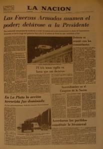 La Nación, 24/3/1976.