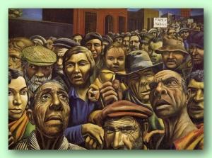 Antonio Berni, Manifestación, 1934