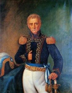 Coornelio Saavedra por B. Marcel, 1865. Museo Histórico Nacional.
